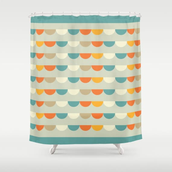 ... pattern bathroom shower curtains, retro pattern bathroom decor