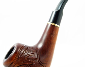 Exclusive Style Wooden pipe Tobacco Smoking Pipe. Hand Carved  PIPE Rio de Janeiro .....Limited Edition..... The Best Gift.....