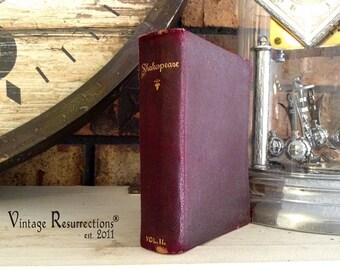Vintage Miniature Shakespeare Book