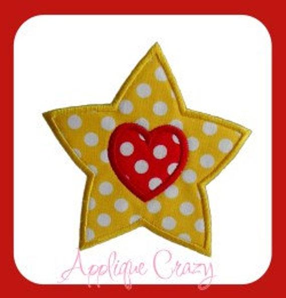 Shinnig Heart Applique design