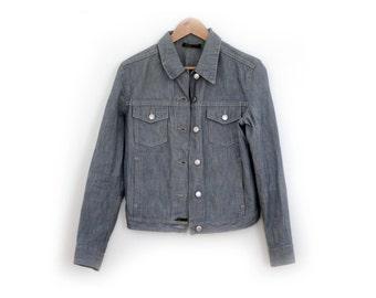 S/36 Denim jean jacket Mango