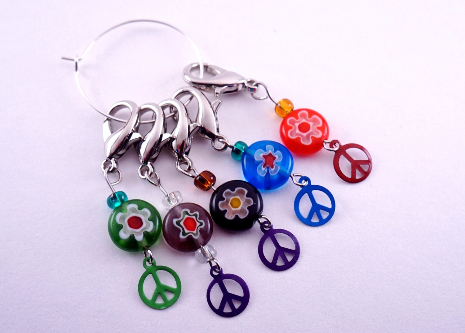 Decorative Knitting Stitch Markers : Stitch Markers Crochet Stitch Markers Knitting and Crochet