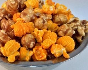 CHEDDAR & CARAMEL Chicago Freedom Snacks Handcrafted Gourmet Popcorn