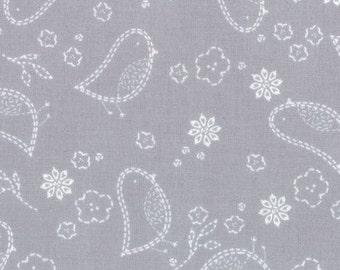 Moda - Aneela Hoey - Sew Stitchy - Needle Birds - Gray