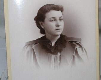 Antique Photograph of A Young Woman