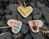 Welsh Blanket Hearts- Small