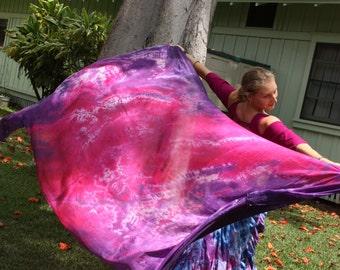 Purple and raspberry swirl