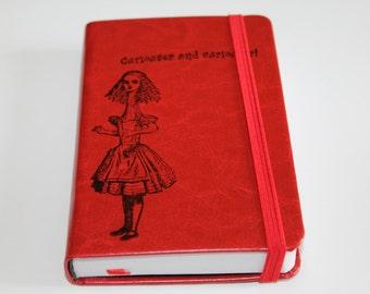 Alice In Wonderland Curiouser and Curiouser! Journal Sketchbook