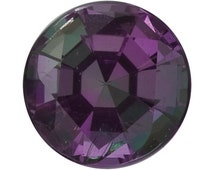 0.12 Ct Rare Natural Alexandrite Gemstone Change Color Loose Round Size 3 mm AA