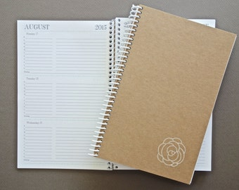 2016 Weekly & Monthly Planner SMALL