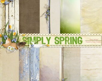 Simply Spring Paper Set