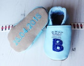 Personalised Initial Prince Baby Shoes