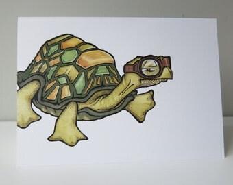 Odd Turtle - Birthday Card