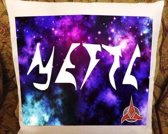 Your name in Klingon Star Trek Pillow/Cushion Cover