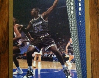 Shaquille O'Neal 1992 ROOKIE Card Orlando Magic Vintage Basketball Hall of Famer NICE