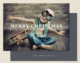 Holiday Photography Template - 0001 - Photoshop Template