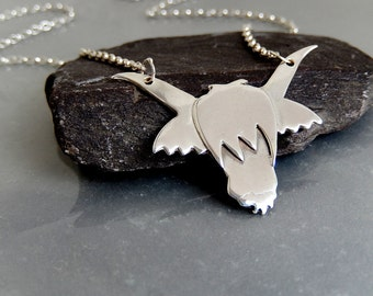 Celtic Highland Cow pendant