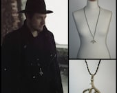 Necklace 'Riddles' (as seen in latest videoclip of Kensington (riddles) * Elegant Curiosities *