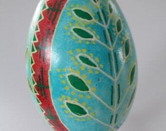 Ukrainian egg art pysanky goose egg Ukrainian Easter Egg egg