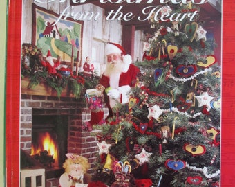 Diy vintage Christmas From The Heart craft book Better Homes and garden Hardback Craft Book 160 pages