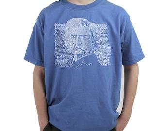 Boy's T-shirt - Mark Twain
