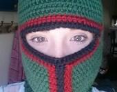 Crochet Boba Fett Ski Mask (Adult)