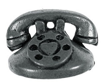 Telephone Lapel Pin - CC230- Telephone, Phone, and Communication Pins
