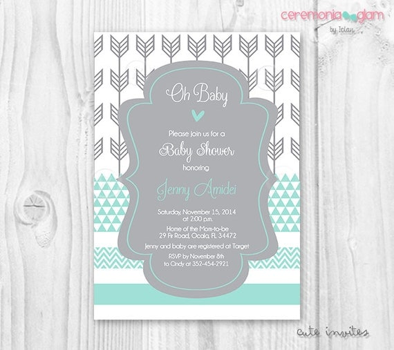 free baby invitations to print