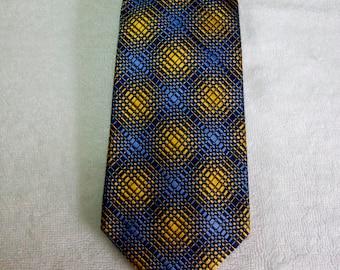 Vintage Authentic Charles Hill Silks Barneys New York Silk Tie