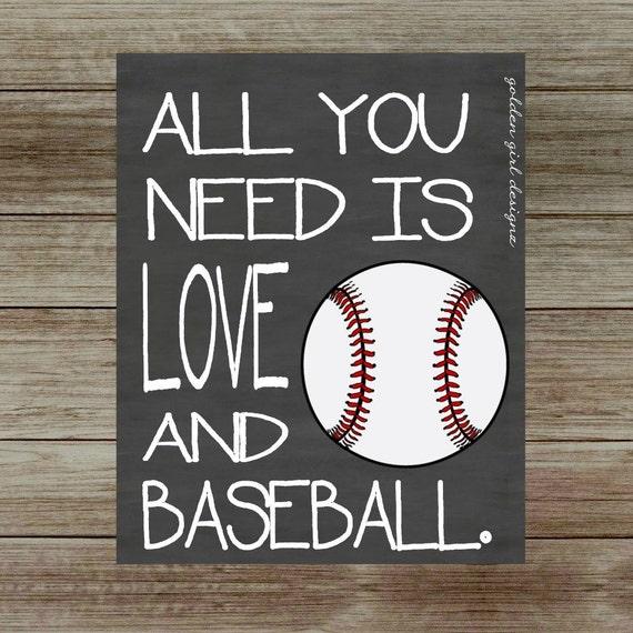 Baseball Home Decor: INSTANT UPLOAD-Baseball Wall Art Baseball Home Decor All You