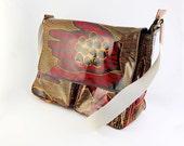 African Print Satchel Bag | African Print Messenger Bag| Ankara Bag | School Bag | Laptop Bag | African Print Fabric Bag | African Oil Cloth