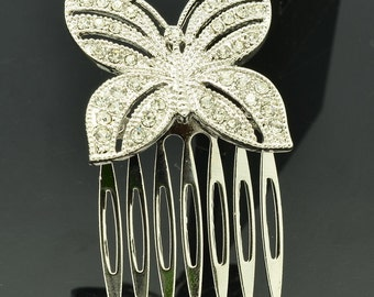 Cute Butterfly Hairpin Comb for Women XBY054…