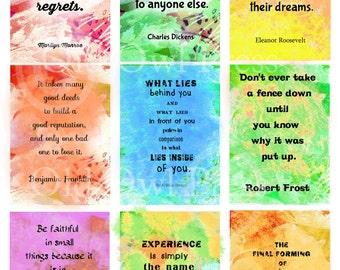 Affirmation cards, affirmations, positive,inspirational quote, self-help, motivation, trading cards, positive affirmation,