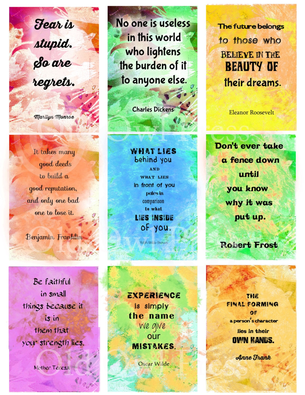 It is a graphic of Amazing Affirmation Cards Printable