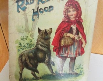 Raphel Tuck & Sons Little Red Riding Hood Illustrated Story Book