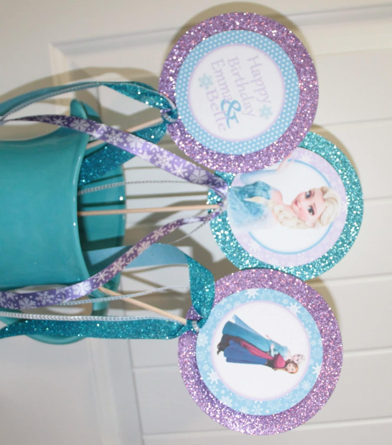 frozen inspired theme happy birthday or baby shower