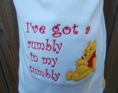 Maternity Shirt - I've Got A Rumbly in my Tumbly Winnie The Pooh Maternity Shirt  Disney Maternity Clothes - Maternity Tee - Funny Maternity