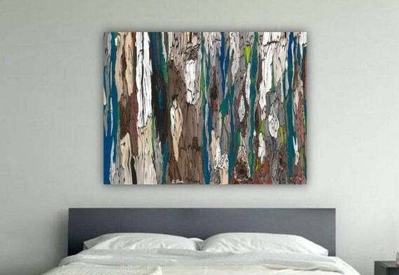 masculine extra large wall art canvas bedroom decor oversized artwork
