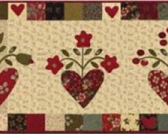 Free Shipping!!  HEART to HEART Pattern by Jan Patek Quilts Inc.