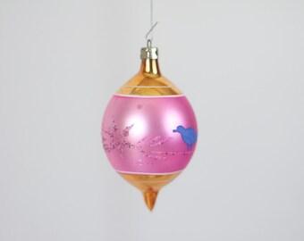 Vintage Christmas Ornament  Glass Christmas Ornament 152