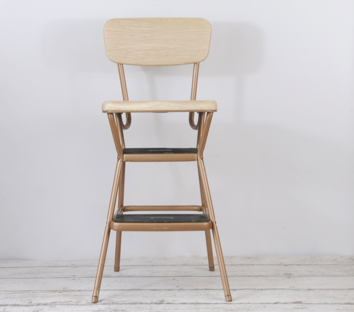 Vintage Cosco Retro Step Stool Flip Up Seat By Pagescrappers