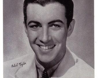 Headshot of Robert Taylor Offset Printing on Lightweight Stock Promotional Photo