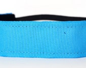 Running Headband - Solid Neon Blue Headband | Non Slip Headband | Team Headband | No Slip Headband | Sports Headband | Free Shipping Offer