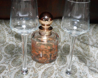 Brandy Flutes, Glassware, Wedding Glasses, Champagne Glasses, Giftware,Vintage, Kathleen Leasure, Fromglentoglen