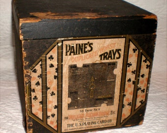 Paine's Duplicate Whist Trays