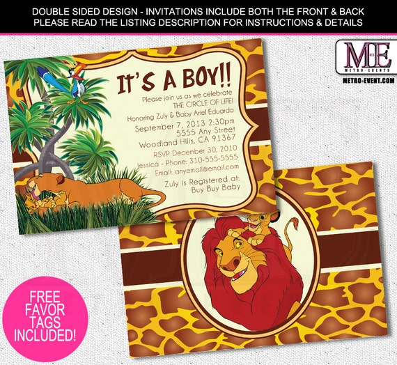lion king baby shower invitations lion king invitation lion king