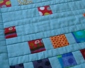 SalsySafrano's Squares: A Modern Art Quilt Pattern