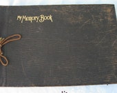 Vintage My Memory Book ~ Photo Book ~ Scrap-booking ~  1920's era ~ Cottage Chic