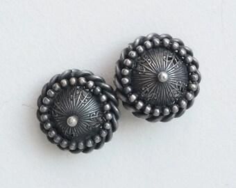 Vintage Ottoman Silver Buckle, Belt Buckle, Middle Eastern Jewelry Accessory