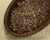 20g 8/0 seed beads Czech rocailles Gold Lined NR 305 last